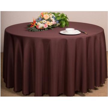 Le tissu de table d'ornement d'hôtel de mariage coloré