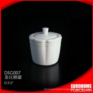 utiliza el pote de azúcar cerámica de gres de hotel restaurante china vajilla