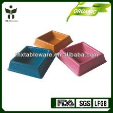 Tazón de mascota de fibra de bambú / ecológico pet bowl