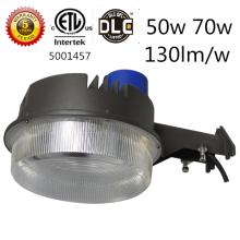 ETL DLC Photozelle 70w führte Dämmerung, um Licht 130lm / w zu beleuchten führte Scheunenlicht