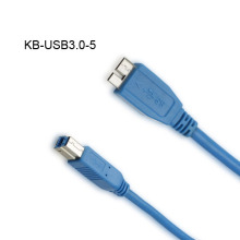 USB 3.0 Cable Micro A Male to B Male