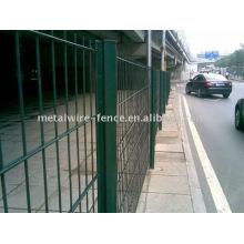 PVC Revestido Cerca de estrada dupla (fábrica)