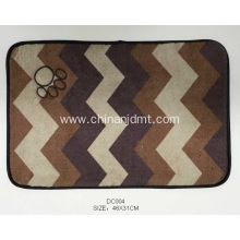 A rectangular corrugated cushion