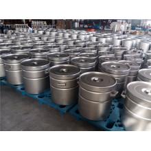 Barillet en acier inoxydable SUS 304 SUS 316L personnalisé 10L -200L