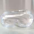 Óculos de isolamento para uso médico de alta qualidade à prova de respingos