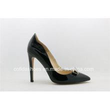 16ss Hot Sale Leather Sexy High Heel Women Shoe