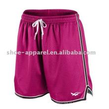 Pantalones cortos de entrenamiento de las mujeres que se ejecutan