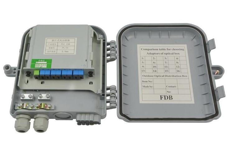 8 Port Ftth Fiber Termination Box