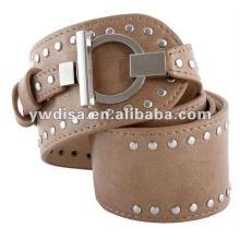 Cinturón de poliuretano para mujer