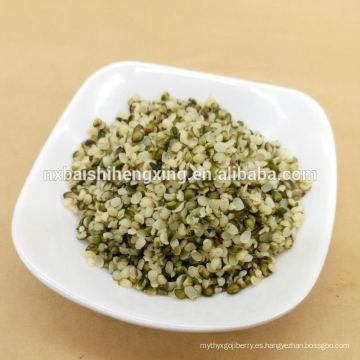 Semilla de cáñamo orgánica sin cascara de Ningxia