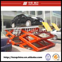 Elevador do carro de Scissor do produto novo / elevador usado da rampa do carro em China