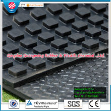 Anti-Slip Cow Rubber Mat Cow Horse Matting Diamond Horse rubber mat