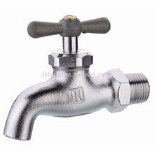 J6014 Nickel plated forged Brass Bibcock faucet tap