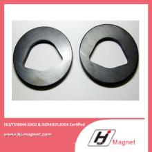 Custmerized heißer Verkauf Y30 Ferrit Ringmagnet von Porzellanfabrik hergestellt