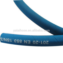 High Pressure 1SN Wire Braided Blue Solution Hose