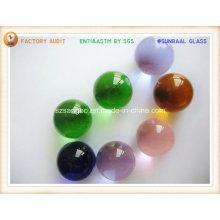 Bola de cristal e esfera de vidro para decoração ou promoção