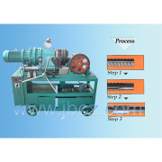 Rib peeling roll stamping machine