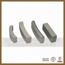 Diamond Core Drill Bit Segment for Cutting