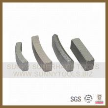 Diamante Core segmento de bits de perforación de concreto asfáltico de piedra (SY-CDS675)