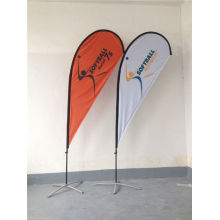10 FT Außenwerbung Teardrop Flag Banner