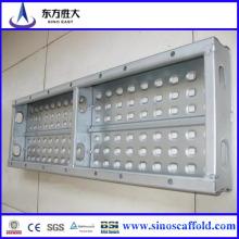 Panneaux de marche en acier à échafaudages avec haute qualité et prix bas