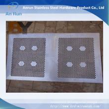 Externer dekorativer Aluminiumperforierter Metallblech-Zaun