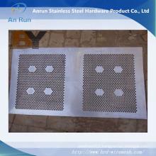 External Decorative Aluminum Perforated Metal Sheet Metal Fence