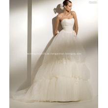 Weißes Hochzeitskleid