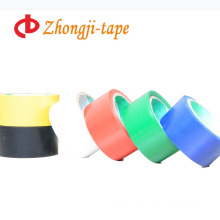 Single color adhesive warning pvc tape