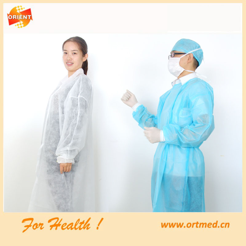 Disponibel steril klinik kappor