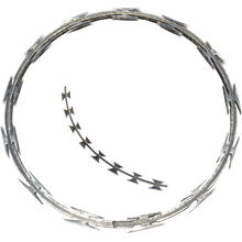 Razor Wire CONCERTINA Galvanized