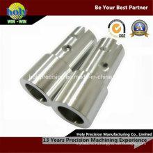 Подвергать механической обработке CNC нержавеющей стали части с оси вала