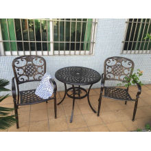 Conjuntos de muebles de jardín de aluminio fundido