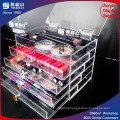 Acrylic Cosmetic Organizer Makeup Drawers Orgaization with Lids