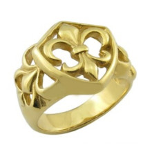 China Factory 18k Solid Gold Rings