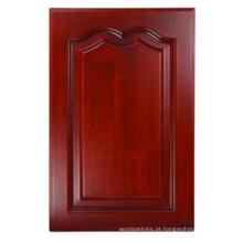 Porta de armário de cozinha de madeira sólida (HLsw-3)