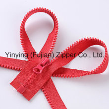 High Quality 5# Open End Plastic Zipper Color Zipper
