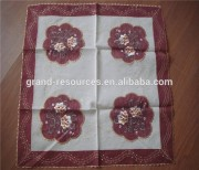 Decorative plastic tablecloths