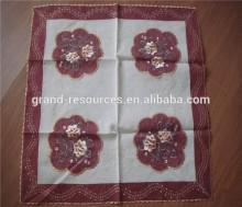 Decorative plastic tablecloths