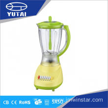 Six Speeds Plastic Blender with Grinder
