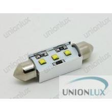 DC 12V Car license plate light Bulb , C5W Canbus LED 220lm