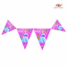 Carnival Cheering Bunting Paper Flag