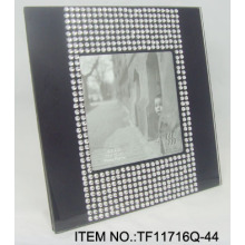 Acrylic Beads Glass Picture Frame