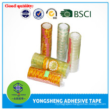 BOPP transparent stationery tape office or student use