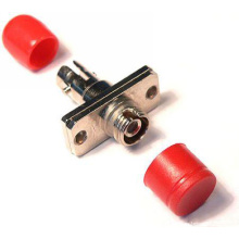 Alojamento híbrido do metal do adaptador da fibra óptica da fibra de St-FC