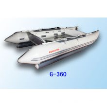 inflatable boat G360 high speed catamaran