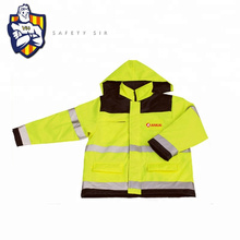 Custom  Reflective Yellow Motorcycle airbag Safety jacket With Led Lights