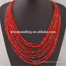 Marken-Förderung Boho innovative Perlen-Multilayer kleine Perlen Halskette