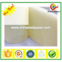 Papier verre blanc à libération de couleur 80 g