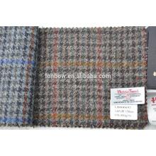 Melhor preço 100% lã harris tweed fornecedor de tecido com alta qualidade